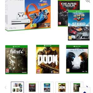 MICROSOFT Xbox One S & Games Bundle £230.01 @ Currys
