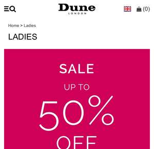 Dune Sale now on