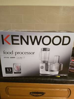 Kenwood FP190 Food processor Half price - £45 in store at Sainsburys