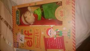 Elf reward pack was £10 save 90% B&M