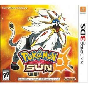Pokemon Sun for Nintendo 2DS and 3DS £19.95 at Coolshop