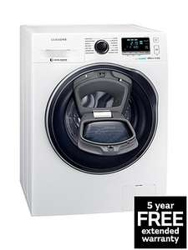 Samsung Addwash WW80K6610QW Washing Machine  inc. delivery = £474.98 - VERY