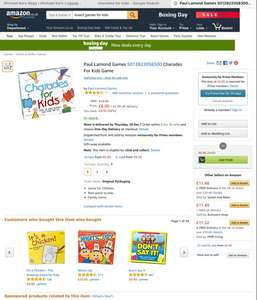 Charades for kids £6 - Amazon Prime Exclusive