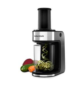 Morphy Richards Electric Spiralizer with 2 blades £14.99  (Prime) / £19.74 (non Prime) at Amazon