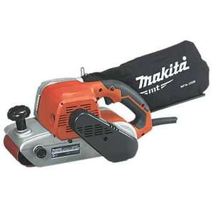 Makita m9400 belt sander 100mm £80 - B&Q