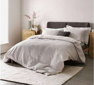 Heart of House Purity Jacquard Double Bedding Set, £11.99 at Argos