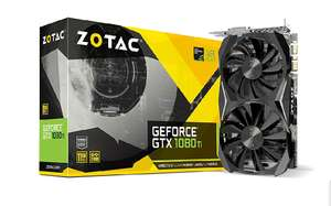 Zotac NVIDIA GeForce GTX 1080 Ti 11 GB Mini Graphics Card £623.99 delivered at Amazon