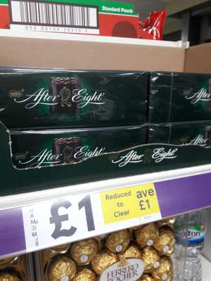 After Eight Mints Carton 300G  Tesco George Street CR0 £1