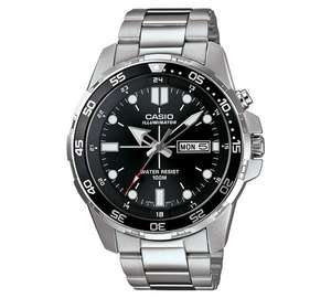 Casio MTD-1079D-1AVEF Black Dial Backlight Watch £39.99 @ Argos