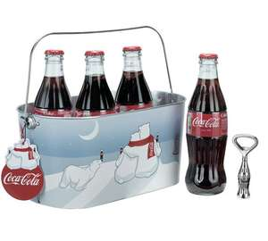 Coca-Cola Oval Ice Bucket and Bottle Opener £4.49 @ Argos