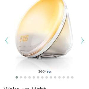 Philips Wake-up light (Free P&P) £56  -   Philips