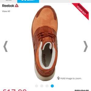 Reebok Mens Furylite Chukka Leather  Trainer £17.99 + £4.49 delivery - mandmdirect