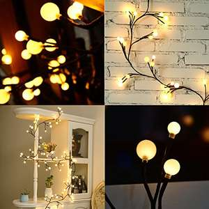 EECOO LED Xmas Globe String Lights 72 Balls £9.99 Prime (£14.74 Non Prime) Sold by Doqo-eu and Fulfilled by Amazon