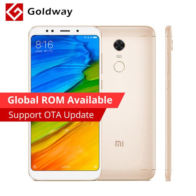 "Xiaomi Redmi 5 Plus 3GB RAM 32GB Snapdragon 625 5.99"" (Gold) £113.67 @ AliExpress / Hong Kong Goldway"