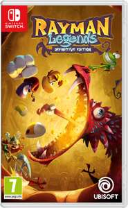 Rayman Legends Definitive Edition nintendo switch £19.85 Shopto