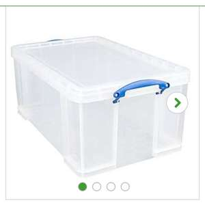 Really Useful 84L Storage Box £14.40 -  Dunelm (Reserve & Collect)