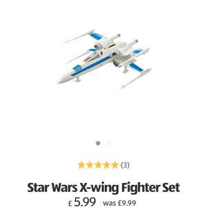 Star Wars X Wing Fighter Reduced from £9.99 to £5.99 Free Delivery Aldi