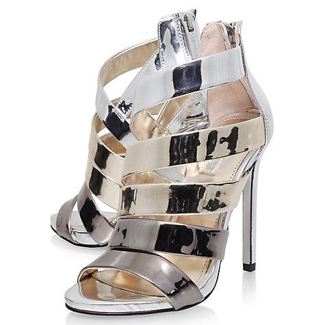 Carvela Gleam Occasion Multi Strap Stiletto Sandals, Gold £29 @ John Lewis