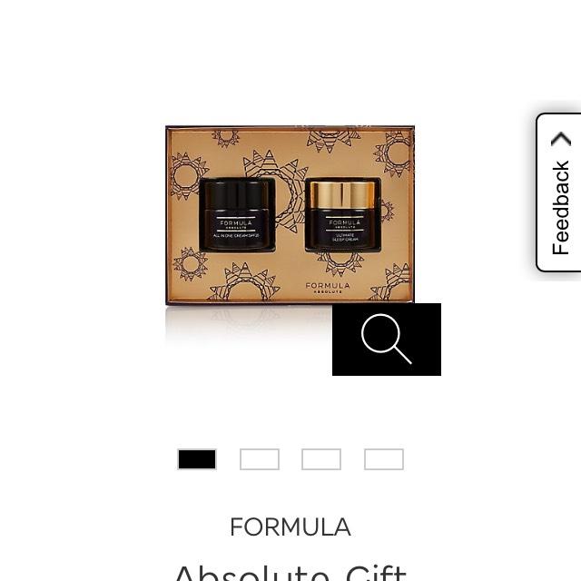 FORMULA Absolute Gift - set of 2 creams £12 at M&S
