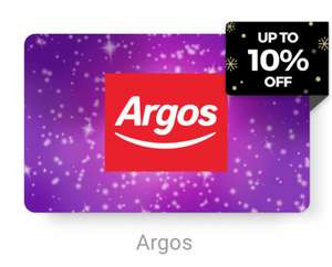 Argos gift card - £50 for £45 (10% off) at Zeek