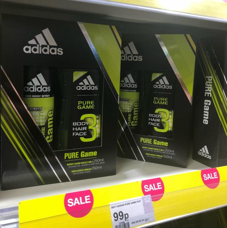 Adidas Gift Sets - 99p instore at Superdrug