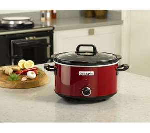 CROCK-POT SCV400RD Slow Cooker 3.5L - Red now £22 @ Currys