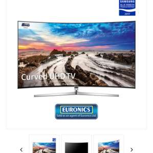 "Samsung UE65MU9000 65"" MU9000 4K UHD HDR 1000 Smart TV - £1199 at PRC Direct"