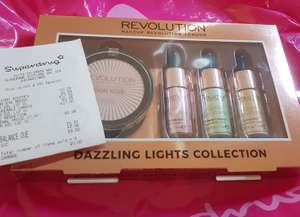 Revolution lights collection (liquid highlighter) *INSTORE* £6.99 Still £17 online, one highlighter alone is £6 @ Superdrug