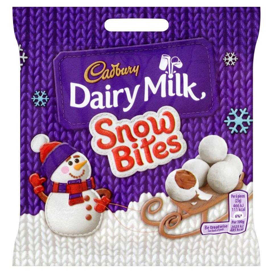 Cadbury Snow Bites 10p at Iceland