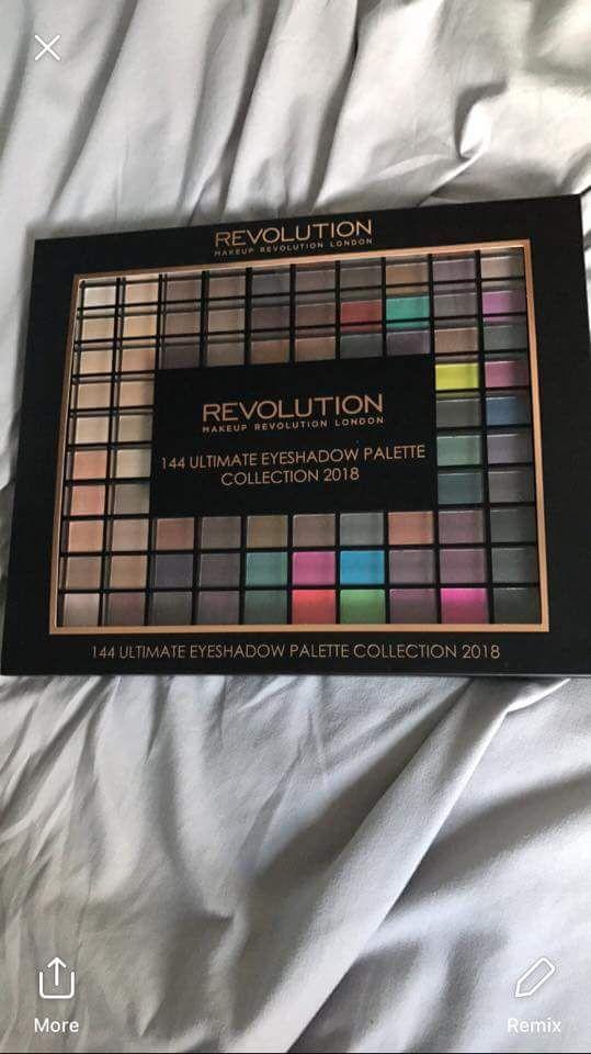 Revolution 144 ultimate eyeshadow palette £2.99 at superdrug instore, no longer available online
