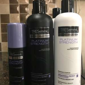 Various Tresemmé Hair Products, 50p in store @ Superdrug - also 2 for 1.