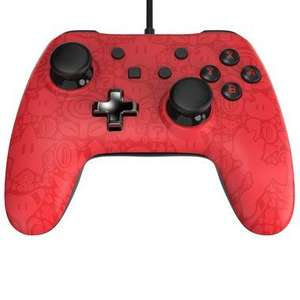Wired Core Plus Mario Controller Nintendo Switch - £19.99 @ Smyths
