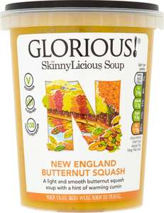 Glorious! New England Butternut Squash Soup (600g) was £2.00 now £1.00 (Rollback Deal) (Varieties as stocked) @ Asda