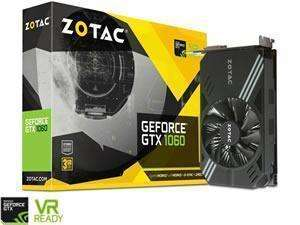 Zotac GTX 1060 Mini 3GB £174.98 + Free Delivery @ Novatech - £174.98
