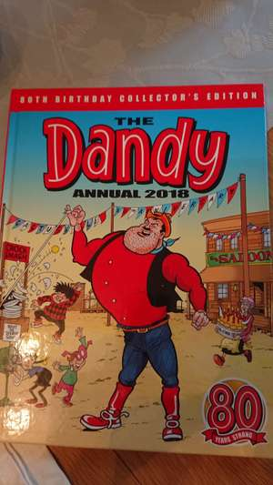 The Dandy Annual 2018 80th Birthday Collector's Edition In-store at Sainsburys - £1