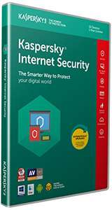 Kaspersky Internet Security 2018 - 10 Devices - £17.99 Prime / £19.98 non Prime @ Amazon