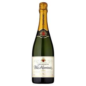 Morrisons The Best Brut Champagne, 75cl £8 @ Amazon Fresh
