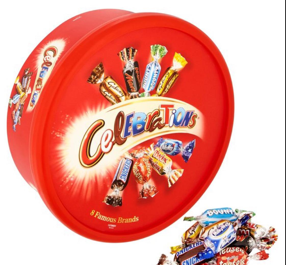 Celebrations Tub 680g £3 @ Morrisons
