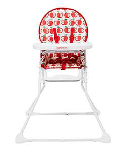 Mothercare highchair - Now £20 (Apple or Spot print)
