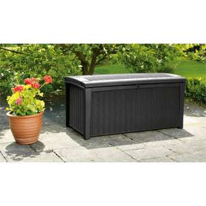 Keter Borneo 400l Rattan Effect Storage Box - £30 @ Homebase  (In store)