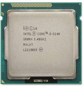 Intel Core i3-3240 (3.4Ghz) LGA1155 £20 + £1.50 Delivery @ CEX