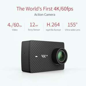 Yi 4k plus action camera with bike mount - £189.99 @ Sold by YI Official Store UK and Fulfilled by Amazon