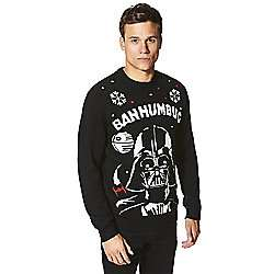 Star Wars Darth Vader Sound and Light-Up Christmas Jumper XL size - tesco direct - £5