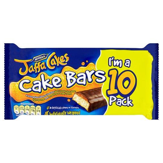 McVities Jaffa Cake Bars 10 PackMcvities Jaffa Cake Bars 10 Pack Half Price was £2.50 now £1.25 @ Tesco