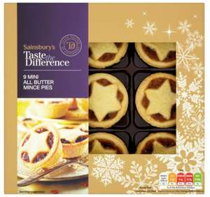 Sainsburys 6 x ttd mince pies reduced to £1.50 instore