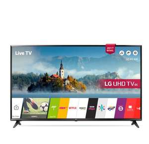 LG 49UJ630V- 49inch 4K UltraHD HDR Smart LED TV £369 with code @ Co-op electrical