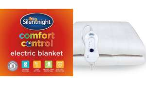 Silentnight  Comfort Control Electric Blanket Single £13 Double £19 King £22 @ George
