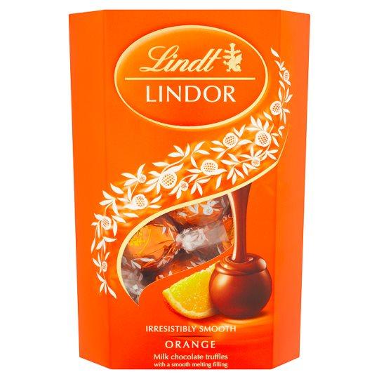 Lindt lindor orange 337g £3.74 instore @ Lindt