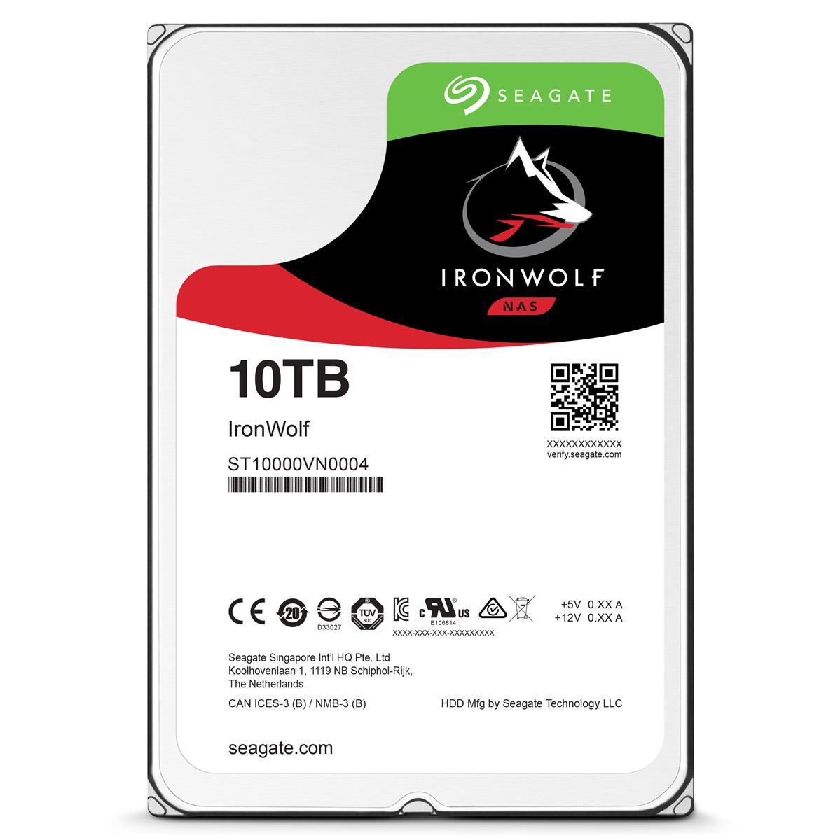"""Seagate IronWolf 10TB SATA III 3.5"""" Hard Drive £269.99 @ CCL"""