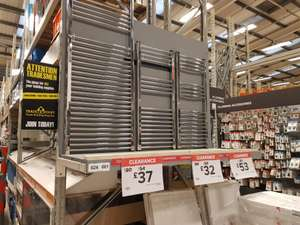 B&Q Towel radiators £32 @ B&Q - Huddersfield